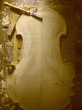 carving bass back