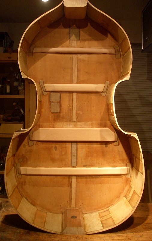 Gerard S Strings Restoration Of A Bohemian Doublebass